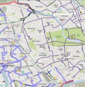 West London Combined Map