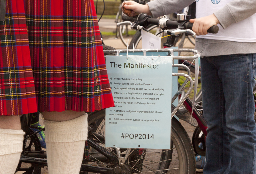 Pedal on Parliament's Mainfesto