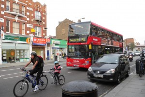 We're sure it's fun to cycle with your kids down or over Uxbridge Road, but shouldn't it be more pleasant?